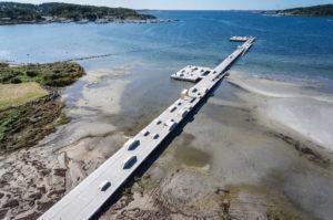 Bathing pier Askim